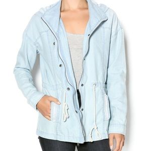 Thread and Supply Light Denim Jacket
